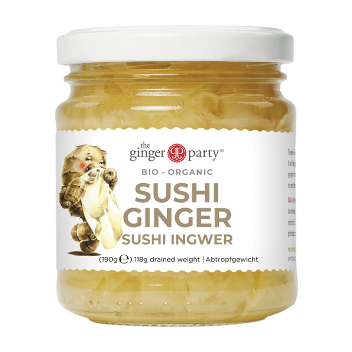 Ginger Party Organic Pickled Sushi Ginger