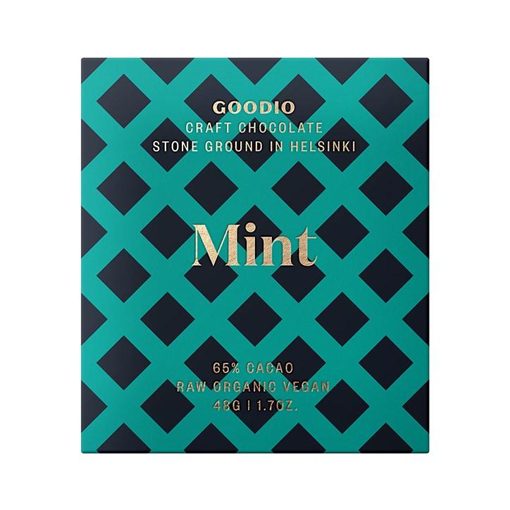 Goodio Raw Chocolate 65% - Mint