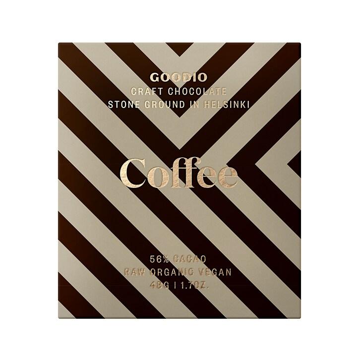 Goodio Raw Chocolate 56% - Coffee