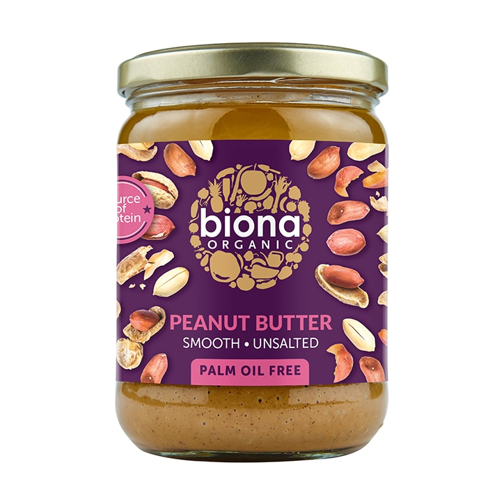 Biona Peanut Butter - Smooth No Added Salt 500g