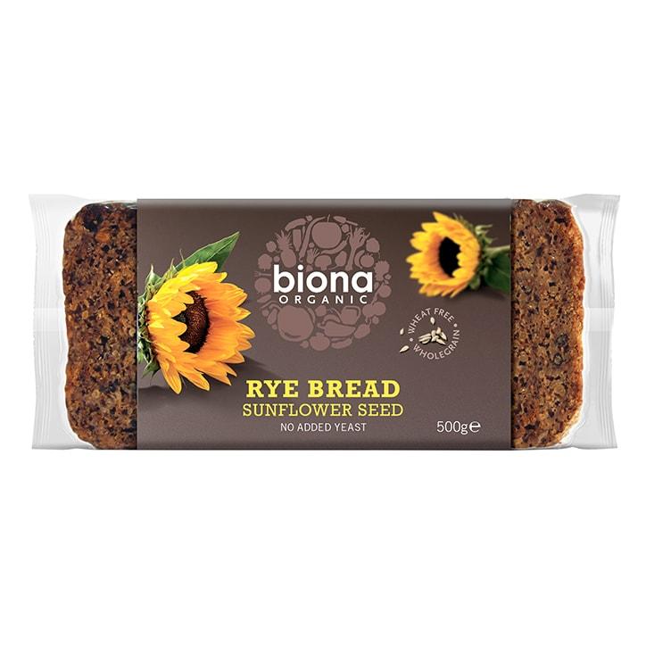 Biona Rye & Sunflower Seed Bread 500g