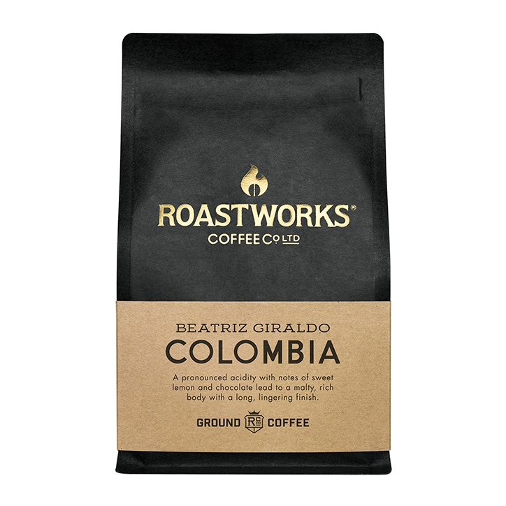 Roastworks Coffee Co Ltd. Colombia Ground Coffee