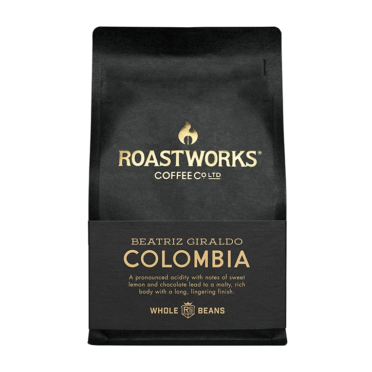 Roastworks Coffee Co Ltd. Colombia Whole Beans 200g