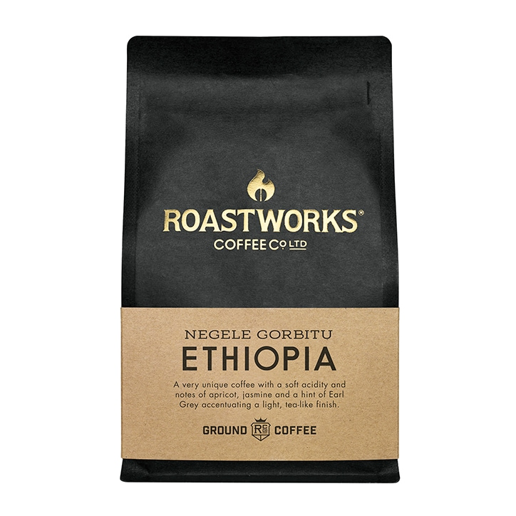 Roastworks Coffee Co Ltd. Ethiopia Ground Coffee