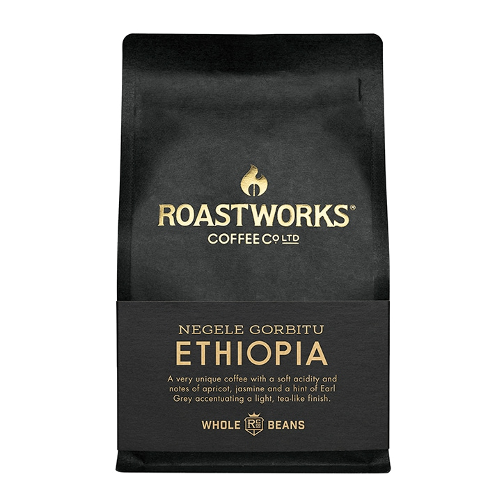 Roastworks Coffee Co Ltd. Ethiopia Whole Beans 200g
