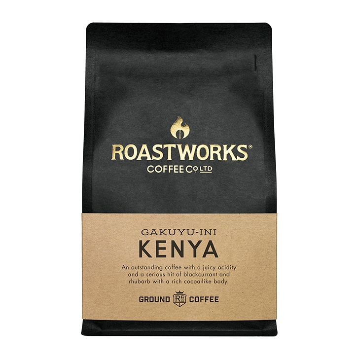 Roastworks Coffee Co Ltd. Kenya Ground Coffee 200g
