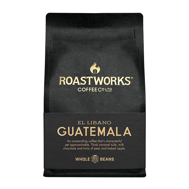 Roastworks Coffee Co Ltd. Guatemala Whole Beans 200g