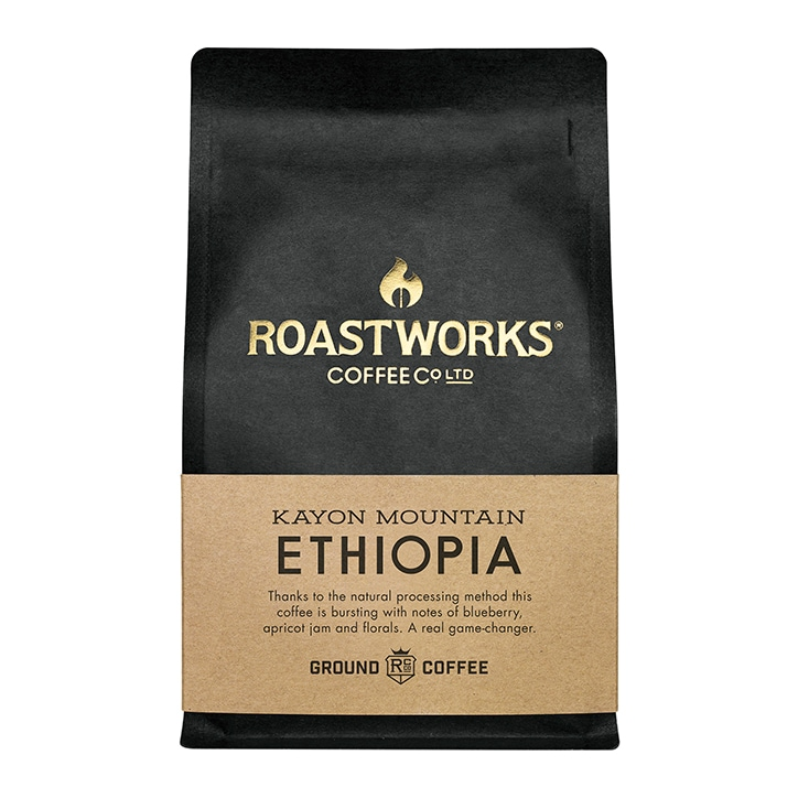 Roastworks Coffee Co Ltd. Ethiopia Natural Ground Coffee 200g