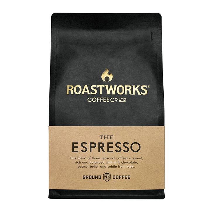 Roastworks Coffee Co Ltd. The Espresso Ground Coffee 200g