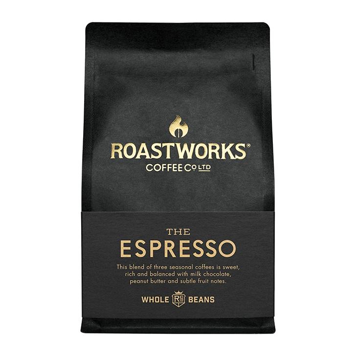 Roastworks Coffee Co Ltd. The Espresso Whole Beans 200g