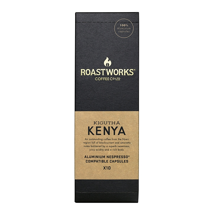 Roastworks Coffee Co Ltd. Kenya Nespresso Compatible Capsules 55g