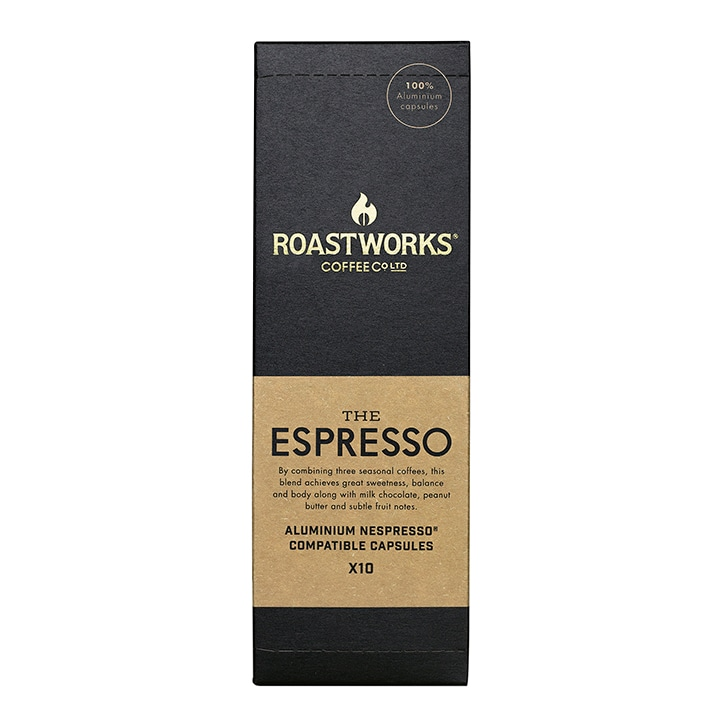 Roastworks Coffee Co Ltd. The Espresso Nespresso Compatible Capsules 55g