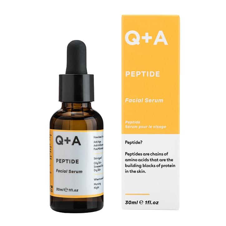 Q+A Peptide Facial Serum 30ml
