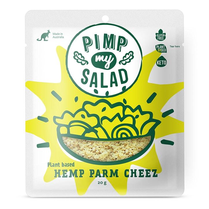 Pimpmysalad Hemp Parmesan Sachet 20g