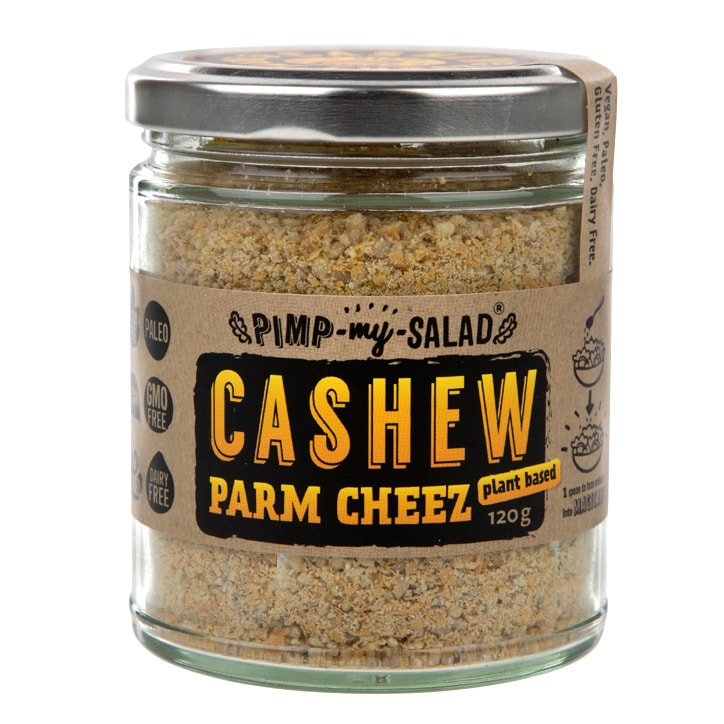 Pimpmysalad Cashew Parm Cheez Jar 120g