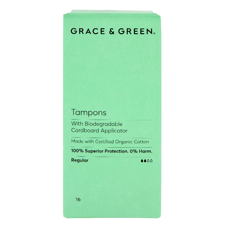 Grace & Green Applicator Tampons  - Regular