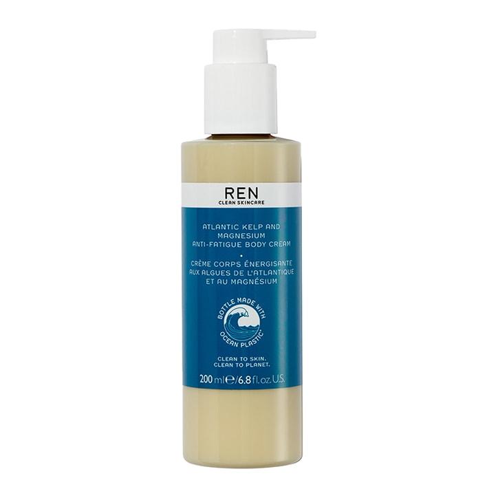 REN Atlantic Kelp Anti-Fatigue Exfoliating Body Cream 200ml