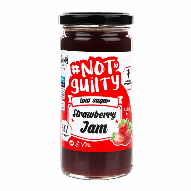 The Skinny Food Co Not Guilty Low Sugar Strawberry Jam