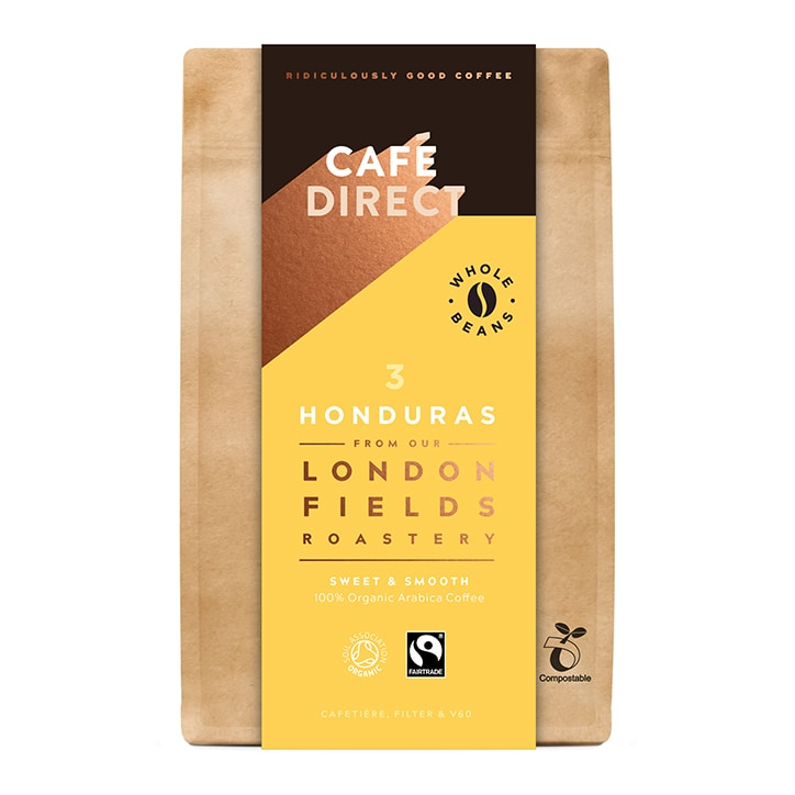 Cafédirect Honduras Organic Coffee Beans 200g
