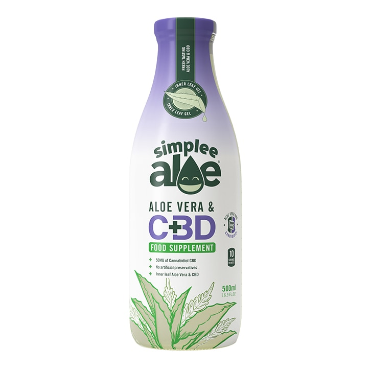 Simplee Aloe Aloe Vera Juice with CBD 500ml