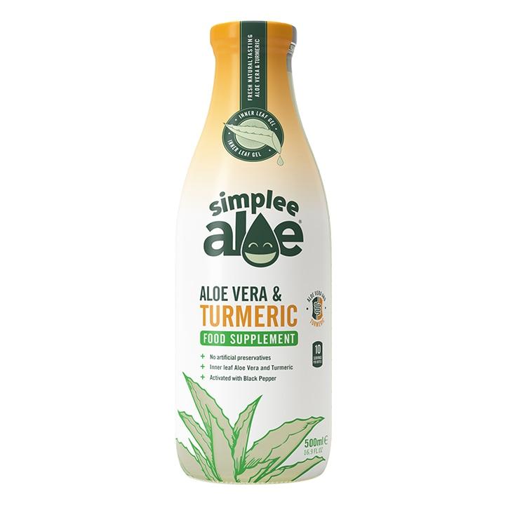 Simplee Aloe Juice & Turmeric 500ml