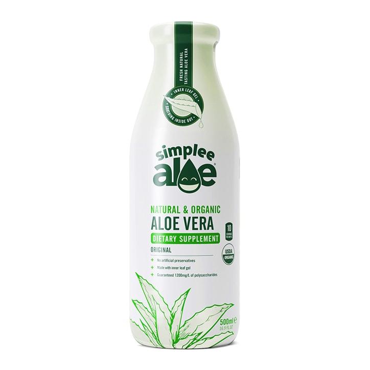Simplee Aloe Organic Aloe Vera Juice 500ml
