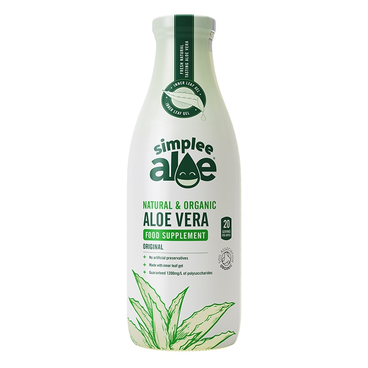 Simplee Aloe Organic Aloe Vera Juice 1 litre