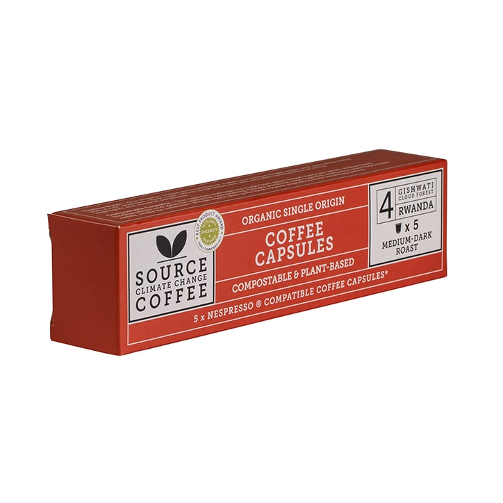 Source Climate Change Coffee Rwanda Coffee Capsules 5x