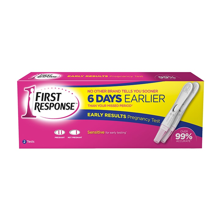 First Response Early Result Pregnancy Test x2