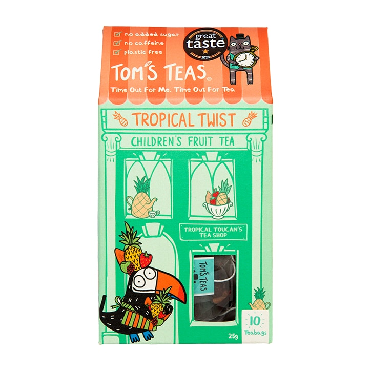 Tom's Teas Children's Tea (Hot or Cold Brew) Tropical Twist