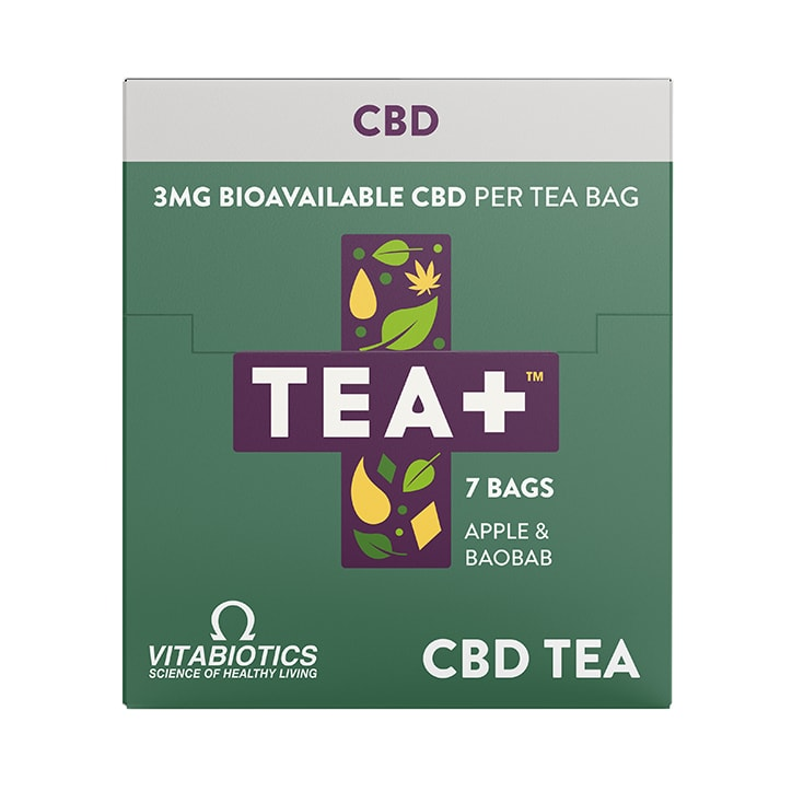 TEA + CBD Infused Tea 7 Bags