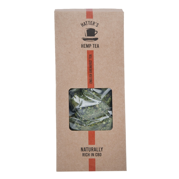 Hatters Hemp Tea English Breakfast 20x bags