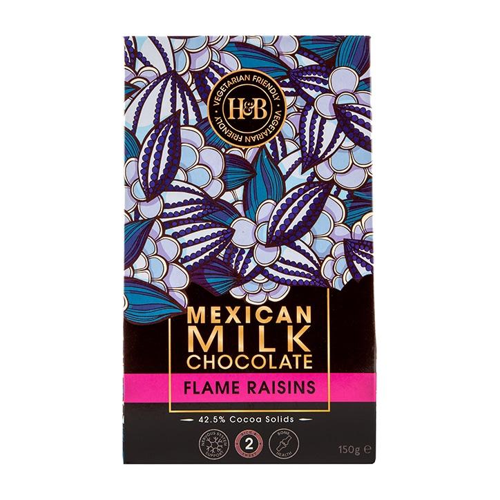 Holland & Barrett Mexican Milk Chocolate Flame Raisins 150g