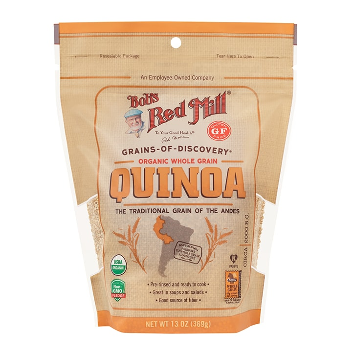 Bobs Red Mill Organic White Quinoa Grain 369g