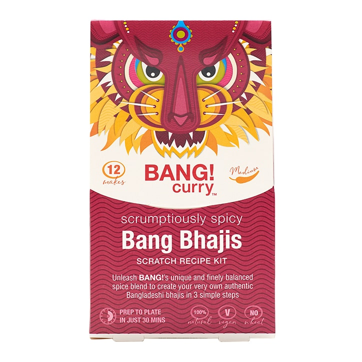 Bang Curry Bang Bhajis Recipe Kit 170g