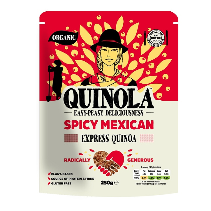 Quinola Organic Express Quinoa - Spicy Mexican