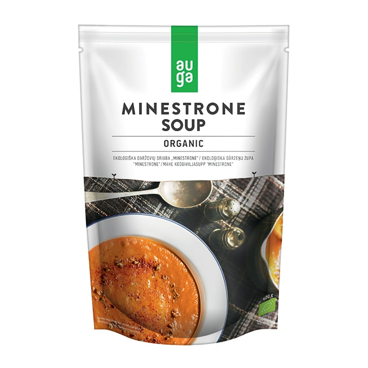 Auga Organic Vegetable Minestrone Soup