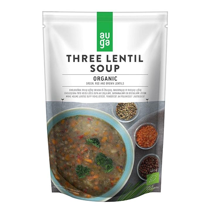 Auga Organic Three Lentil Soup 400g