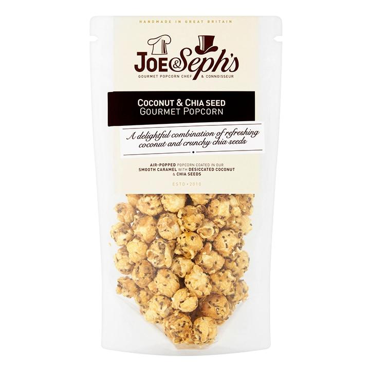 Joe & Sephs Coconut & Chia Popcorn 80g