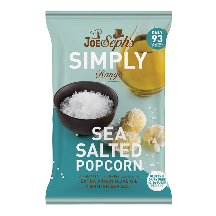 Joe & Sephs Simply Salted Popcorn 16g