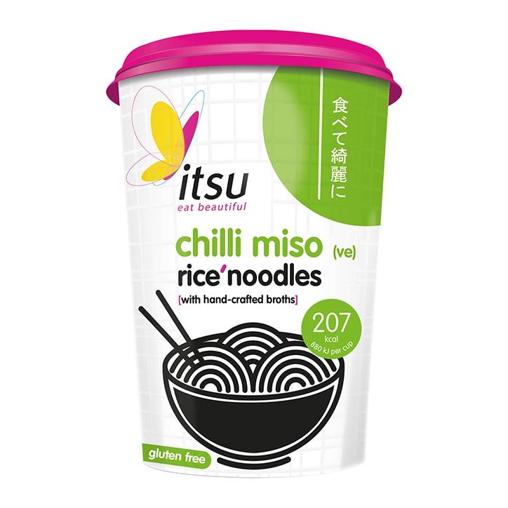 Itsu Chilli Miso Noodle Cup 63g