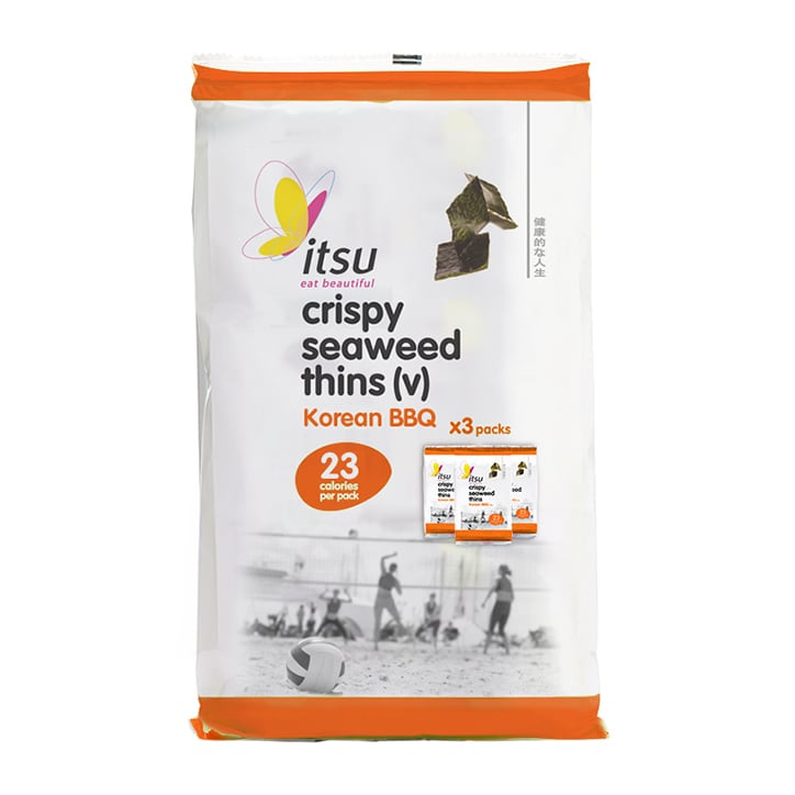 Itsu Crispy Seaweed Thins - Barbecue Multipack
