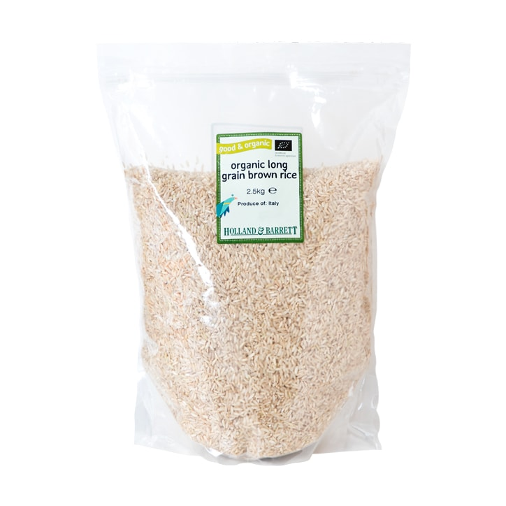 Holland & Barrett Monster Pack Organic Long Grain Brown Rice