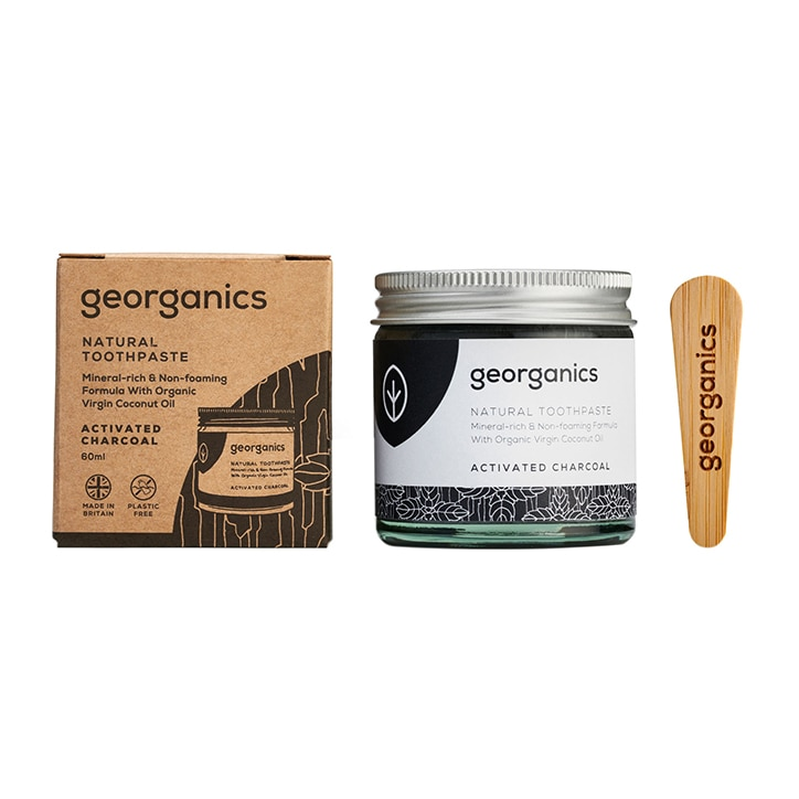 Georganics Mineral-rich Toothpaste - Activated Charcoal