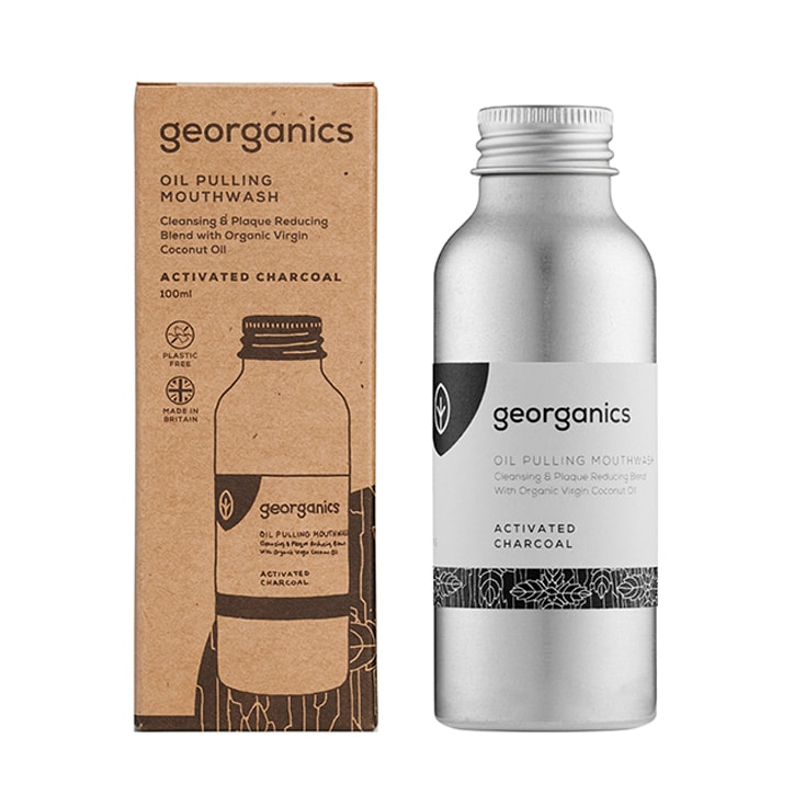 Georganics Oilpulling Mouthwash - Activated Charcoal