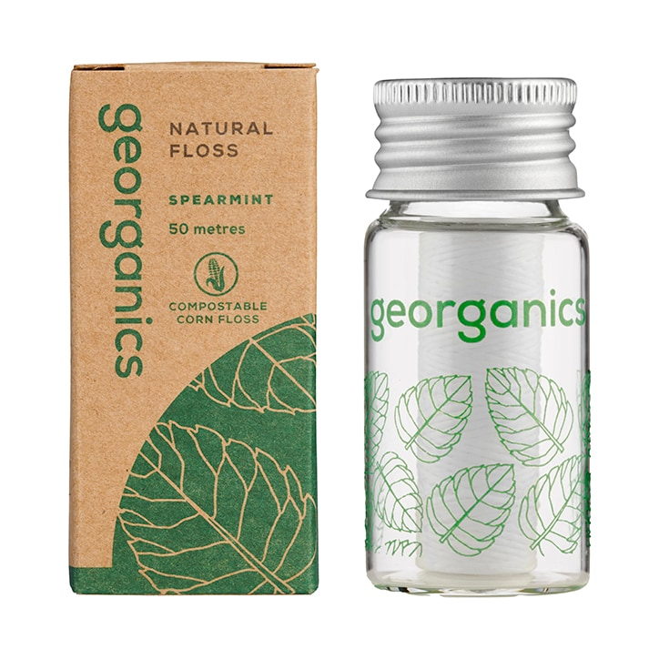 Georganics Natural Floss - Silk Spearmint