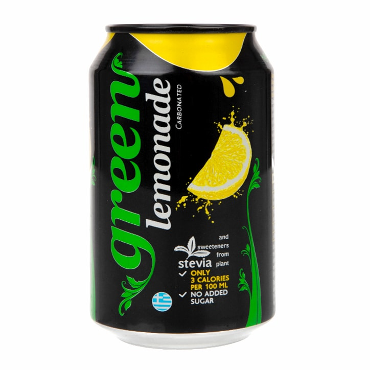 Green Sugar Free Lemonade 330ml
