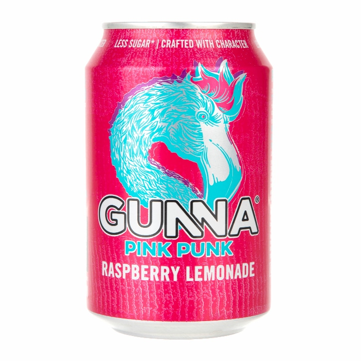Gunna Pink Punk Raspberry Lemonade 330ml