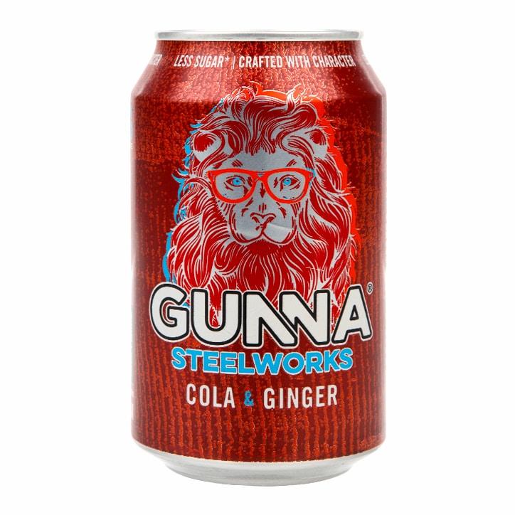 Gunna Steelworks Cola & Ginger 330ml