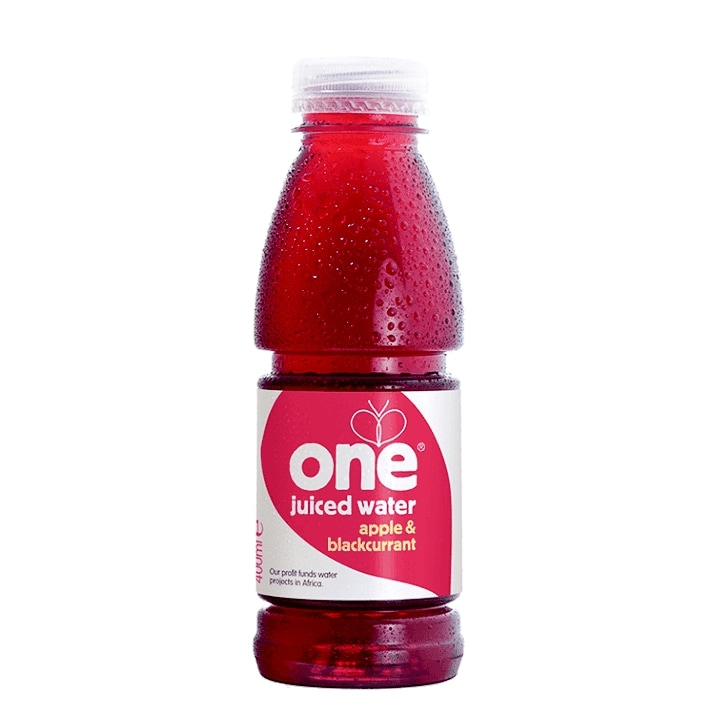 One Water Apple & Blackcurrant Juiced Water